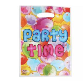 """Traktatie Zakjes """"Party Time"""""""