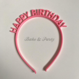 "Tiara ""Happy Birthday"" Roze"