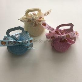 "Giftbox ""Handtas"" Blauw"