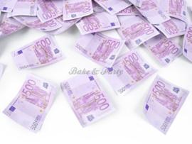 """Confetti Kanon XL """"500 Euro Briefjes"""""""