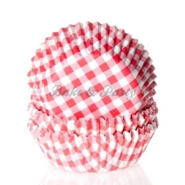 House Of Marie - Gingham Red