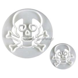 FMM  - Skull & Crossbones Cutter Set (2 stuks)