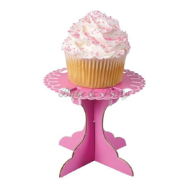 Wilton Cupcake Stand Pink (6 stuks) - 8,9 x 10 cm