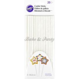 Wilton - Cookie Sticks 20 cm (20 stuks)