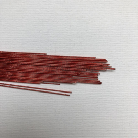 Culpitt - Floral Wire 24 Gauge Metallic Rood (50 stuks)