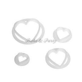 FMM  - Heart Cutters (4 stuks)