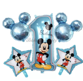 "Folie Ballonnen Happy Birthday ""Mickey Mouse"" (2)"