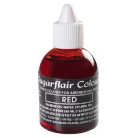 Sugarflair - Edible Airbrush Colouring - Red