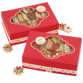 Wilton Cookie Box Homemade for the Holidays  (2 stuks) - 24 x 16,5 x 7,6 cm