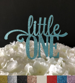"Taart Topper Carton ""Little One"""