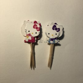 "Cupcake Toppers ""Hello Kitty"" (1)"