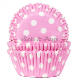 House Of Marie - Polkadot Baby Pink