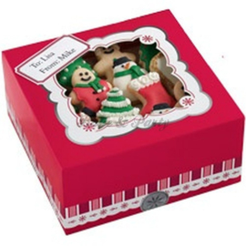 Wilton Cookie Box Luxury Christmas  (2 stuks) - 24 x 16,5 x 7,6 cm