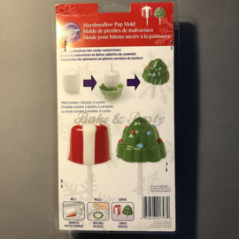 Wilton - Marshmellow Pop Mold - Christmas Tree & Present