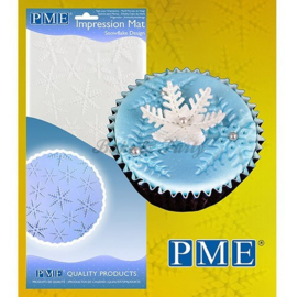 PME - Impression Mat - Snowflake Design