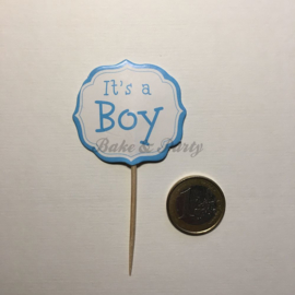"Cupcake Toppers ""It's a Boy"" (2)"