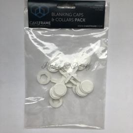 Cakeframe - Blanking Caps & Collars  Pack