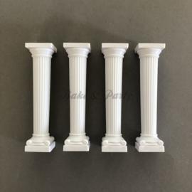 Taartpilaren Grieks Design 12,5 cm hoog