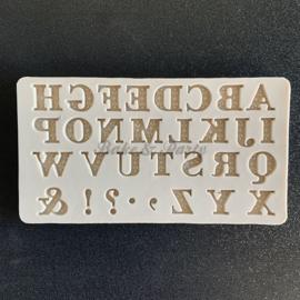 "Siliconen Mal ""Alfabet"" (5)"