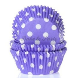 House Of Marie - Polkadot Purple