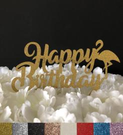 "Taart Topper Carton ""Happy Birthday"" (9)"