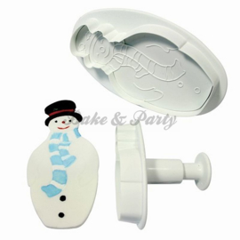 Plunger - PME  Snowman (2 stuks)