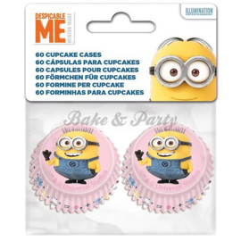 Stor - Mini Cupcake Cups Minions / Despicable Me