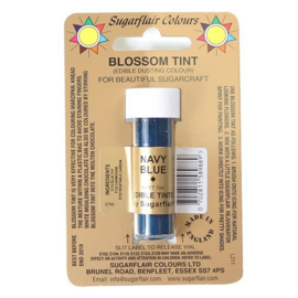 Sugarflair - Edible Dusting Colour Blossom Tint - Navy Blue