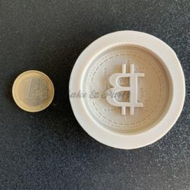 """Siliconen Mal """"Bitcoin"""""""