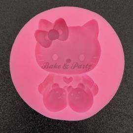"""Siliconen Mal """"Hello Kitty"""" (1)"""