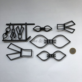 Patchwork Cutters - Make a Bow Set