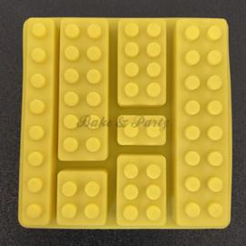 """Siliconen Mal """"Lego Stenen"""" (2)"""