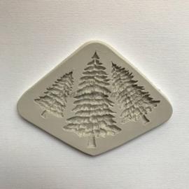 "Siliconen Mal ""Dennebomen"" (1)"