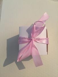 """Giftbox """"Kinderwagen"""" (1) Roze"""