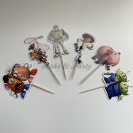 "Cupcake Toppers ""Toy Story"""