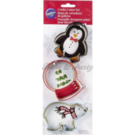 Wilton - Cookie Cutters Set - Polar (3 stuks)