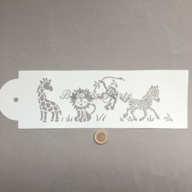 "Decoratie Stencil ""Safari"""
