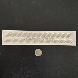 """Siliconen Mal """"Gevlochten Kabel"""" (1)"""
