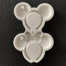 "Siliconen Mal ""Mickey & Minnie Mouse"" (2)"