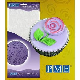 PME - Impression Mat - Fantasy Rose Design