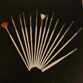 Decoratie Kwasten & Brushes Set (15 stuks)