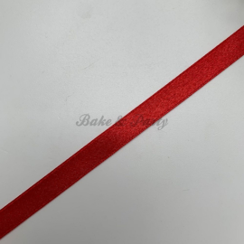 """Decoratie Lint """"Rood Satijn"""""""