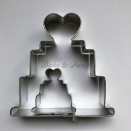 PME - Wedding Cake Cutter Set (2 stuks)