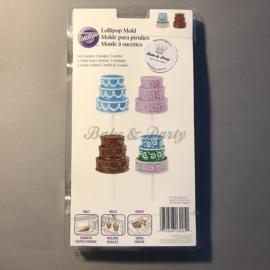 Wilton - Lollipop Mold - 3D Cake