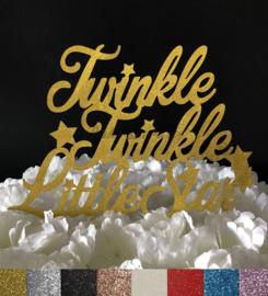 """Taart Topper Carton """"Twinkle Twinkle Little Star"""""""