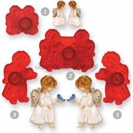 JEM - Cute Angels Cutter Set (4 stuks)