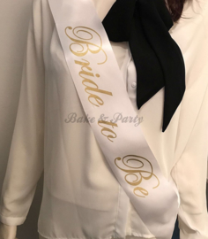 "Sjerp ""Bride to Be"" Wit/Goud (1)"