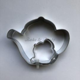 PME - Teapot Cutter Set (2 stuks)