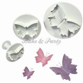 Plunger - PME  Veined Butterfly Set (3 stuks)