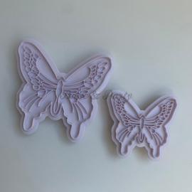 """Embossers """"Vlinders"""" (2 stuks)"""